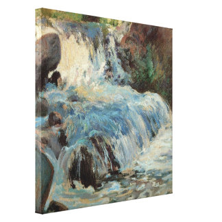 The Waterfall, c.1890-1900 Canvas Prints