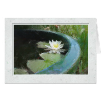 The Waterlily Card