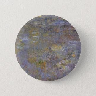 The WaterLily Pond 2 Inch Round Button