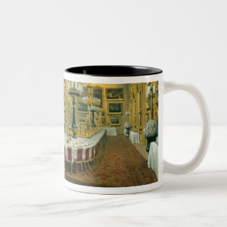 The Waterloo Gallery, Apsley House, reproduced in Two-Tone Coffee Mug