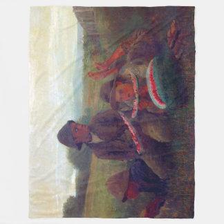 The Watermelon Boys - Homer Winslow Fleece Blanket