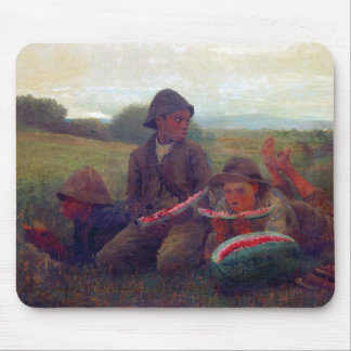 The Watermelon Boys - Homer Winslow Mouse Pad