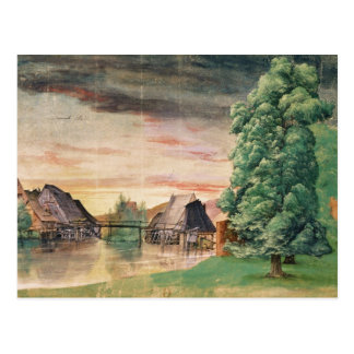 The Watermill, 1495-97 Postcard