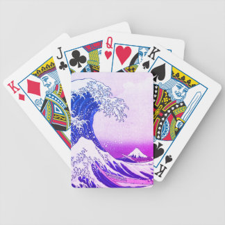 The Wave Bicycle Playing Cards