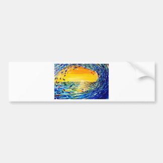 The Wave Bumper Sticker