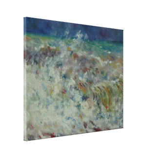 The Wave by Pierre-Auguste Renoir Canvas Print