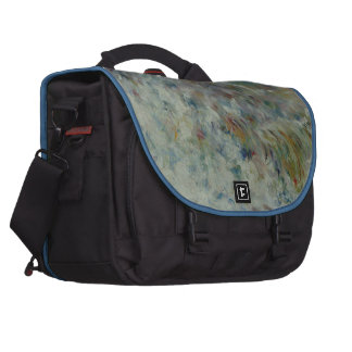 The Wave by Pierre-Auguste Renoir Bags For Laptop