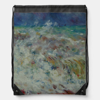The Wave by Pierre-Auguste Renoir Backpack