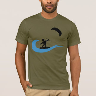 The wave cool kitesurfing icon T-Shirt