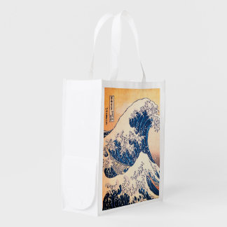 The Wave Reusable Grocery Bag