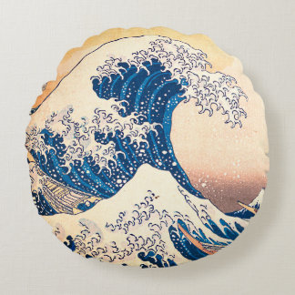 The Wave Round Pillow