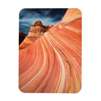 The wave, vermilion cliffs, Arizona Rectangular Photo Magnet