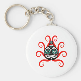 tHE WAVES FORMED Basic Round Button Keychain