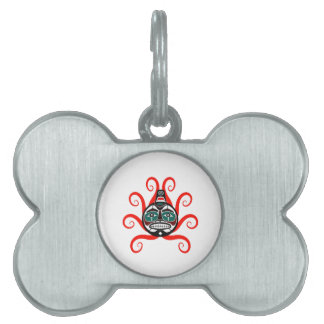 tHE WAVES FORMED Pet Tags