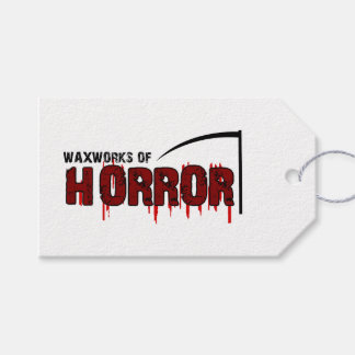 The Waxworks of Horror Gift Tags
