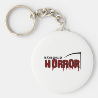 The Waxworks of Horror Keychain