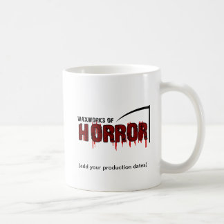 The Waxworks of Horror photo memento mug