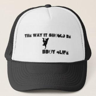 the way it should be, bboy 4life trucker hat