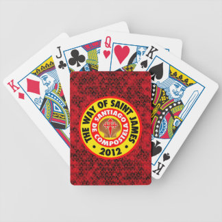 The Way of Saint James 2012 Bicycle Playing Cards