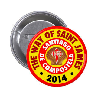 The Way of Saint James 2014 2 Inch Round Button