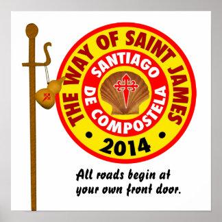 The Way of Saint James 2014 Poster