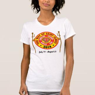 The Way of Saint James 2014 T-Shirt