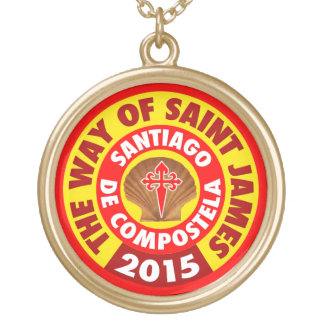 The Way of Saint James 2015 Gold Plated Necklace