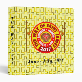 The Way of Saint James 2017 3 Ring Binder