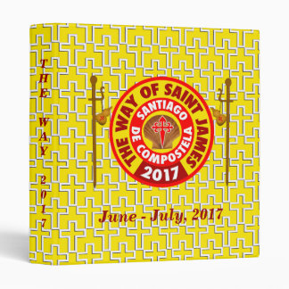 The Way of Saint James 2017 3 Ring Binders