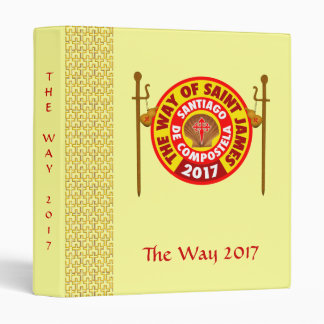 The Way of Saint James 2017 Binder