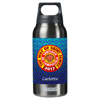 The Way of Saint James 2017 Insulated Water Bottle
