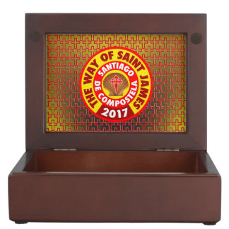 The Way of Saint James 2017 Keepsake Box