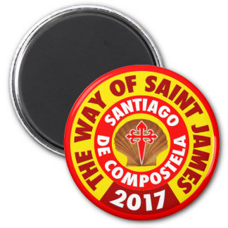 The Way of Saint James 2017 Magnet