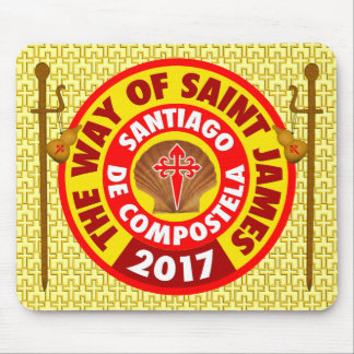 The Way of Saint James 2017 Mouse Pad