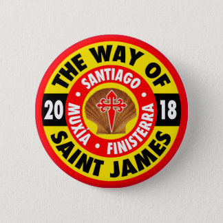 The Way of Saint James 2018 2 Inch Round Button