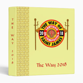 The Way of Saint James 2018 3 Ring Binders