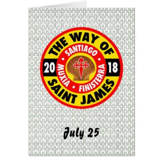 The Way of Saint James 2018 Card