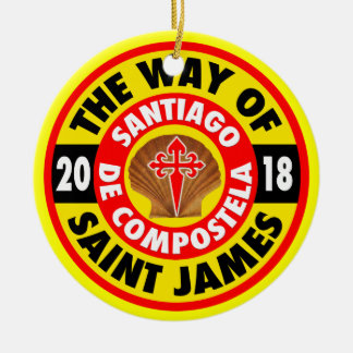 The Way of Saint James 2018 Ceramic Ornament