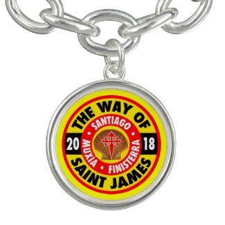 The Way of Saint James 2018 Charm Bracelet