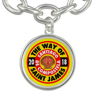 The Way of Saint James 2018 Charm Bracelet