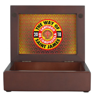 The Way of Saint James 2018 Keepsake Box