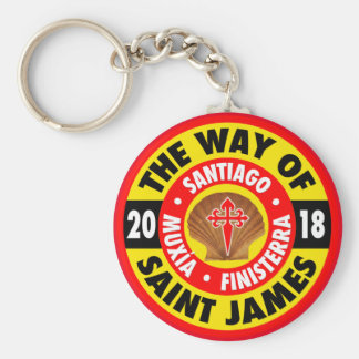 The Way of Saint James 2018 Keychain