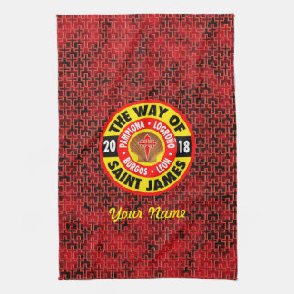 The Way of Saint James 2018 Kitchen Towel