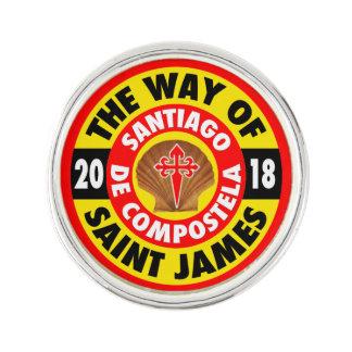 The Way of Saint James 2018 Lapel Pin