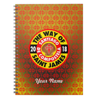 The Way of Saint James 2018 Notebook
