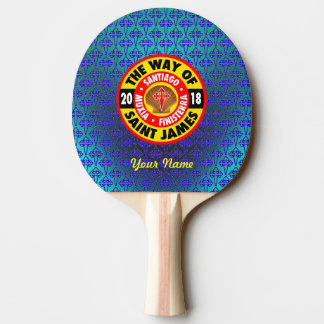 The Way of Saint James 2018 Ping Pong Paddle