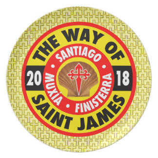 The Way of Saint James 2018 Plate