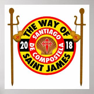 The Way of Saint James 2018 Poster