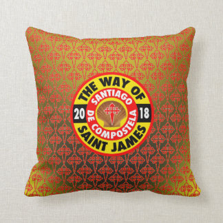 The Way of Saint James 2018 Throw Pillow