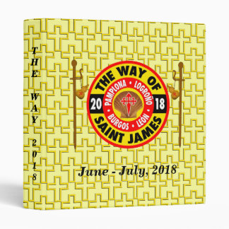 The Way of Saint James 2018 Vinyl Binders